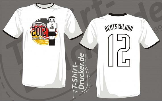 T-Shirt-Drucker EM-Shirt