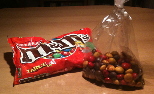 M&Ms Peanut Butter und Strawberried Peanut Butter