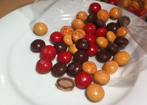 M&Ms Strawberried Peanut Butter Limited Edition