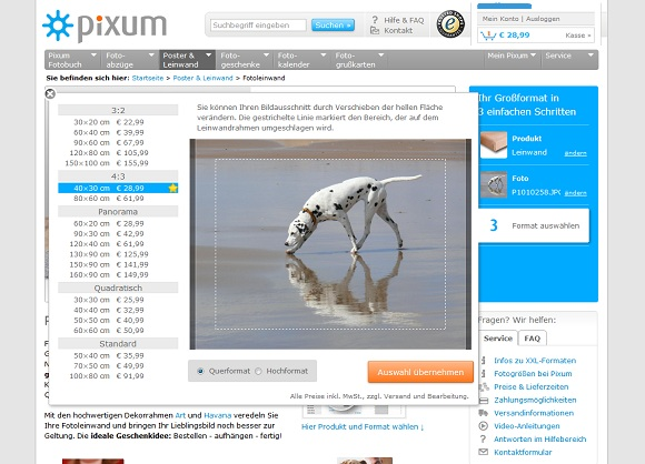 Pixum Fotoleinwand Test