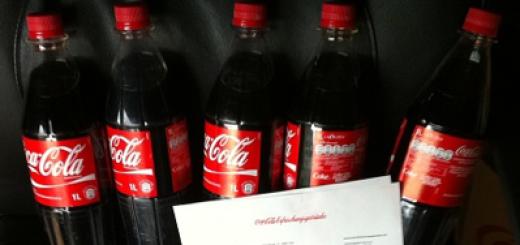 Coca Cola Geschenke