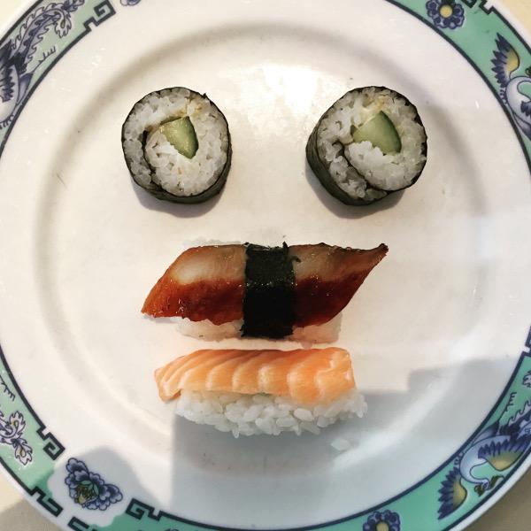Sushiface Mr. Moustache