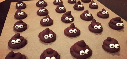 Kackhäufchen-Kekse