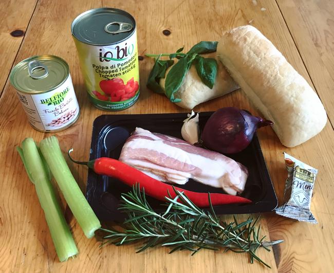 Gemüseeintopf mit Bacon